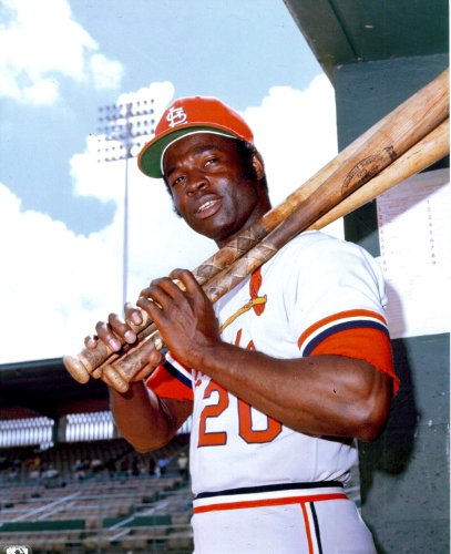 Lou Brock Vintage St. Louis Cardinals 8x10 Photo - Mint Condition at Amazon.com
