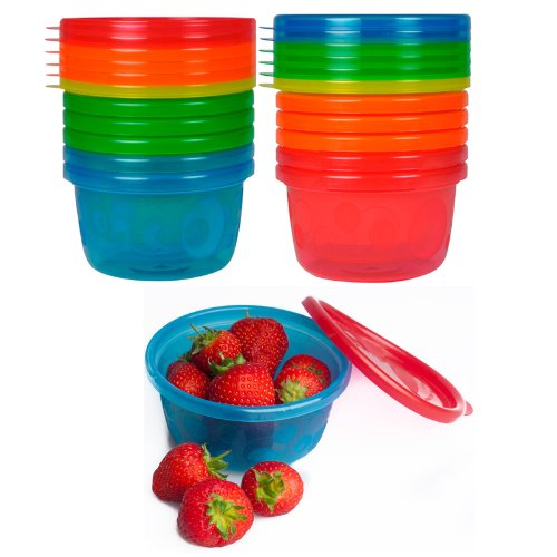First Years Y1032v 8 Oz Take & Toss® Bowls With Lids 7 Count - 1