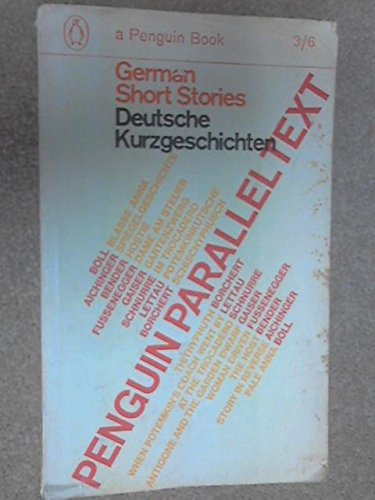German Short Stories (Penguin Parallel Texts), Various