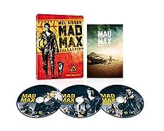 【Amazon.co.jp限定】マッドマックス トリロジー スーパーチャージャー・エディション ブルーレイ版 スチールブック仕様(3枚組)(B5サイズ ポスター付き) [Blu-ray]