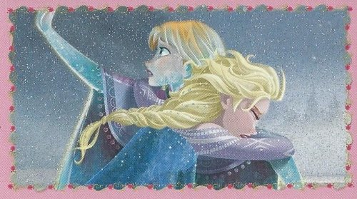 Disney Frozen Individual Anna & Elsa Sticker No.161
