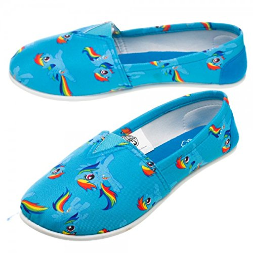 My Little Pony Rainbow All Over Slip-On Shoes | M