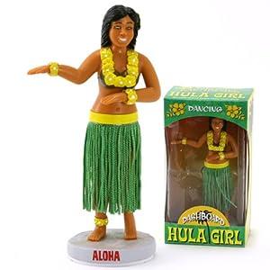 Wackelfigur HULA GIRL für das Armaturenbrett