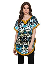 Multi Digital Print Fushion Kurti X-Large