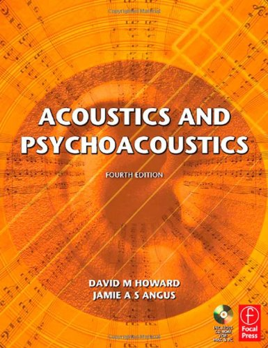 Acoustics and Psychoacoustics