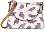 Snoogg Pigeon paint Womens Carry Around Sling Bags