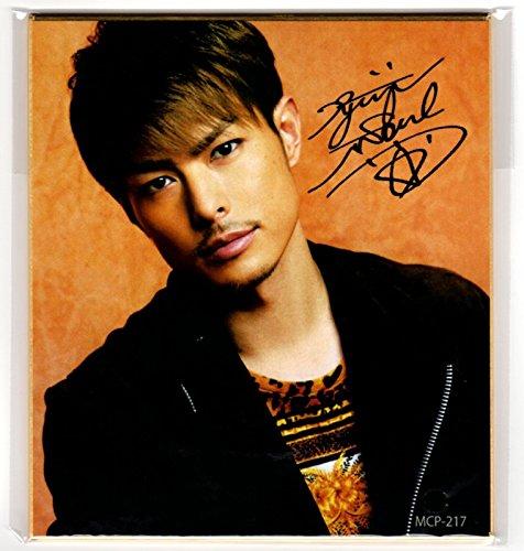 三代目J Soul Brothers ファングッズ サイン入りミニ色紙 Type,217 【今市隆二】