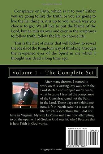 Conspiracy Or Faith: Volume 1