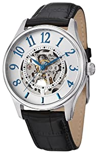 Stuhrling Original Men's 746L.SET.01 Delphi Solaris Automatic Skeleton Silver Watch with Additional Strap by Stuhrling Original