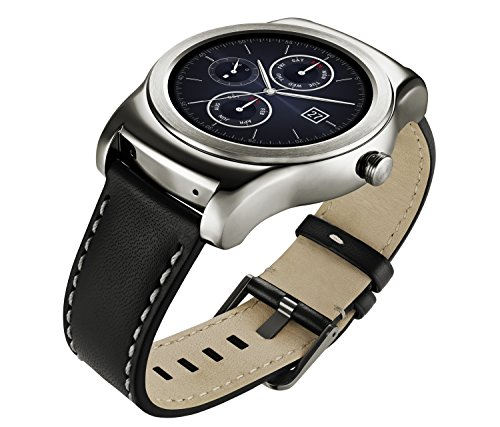 LG Watch Urbane Smartwatch (3,3 cm (1,3 Zoll) P-OLED Display, Android Wear) silber 6