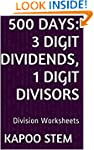 500 Division Worksheets with 3-Digit...