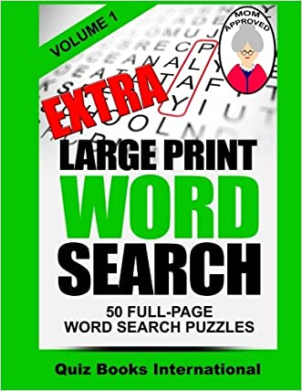 Extra Large Print Word Search Volume 1