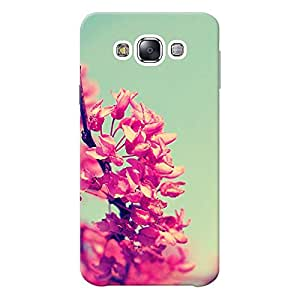 Mobile Back Cover For Samsung Galaxy E7 (Printed Designer Case)