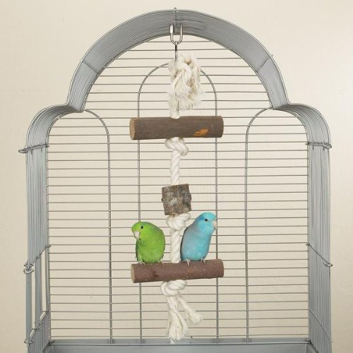 Brainy Bird Natural Knots Toy Pure Perch