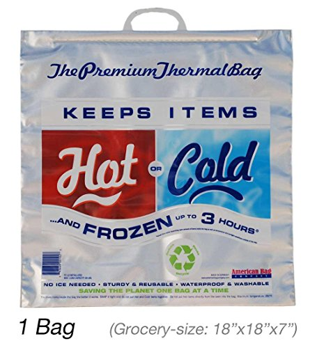 Hot Cold Bag | Insulated Bag | Thermal Bag (1 Grocery Bag)