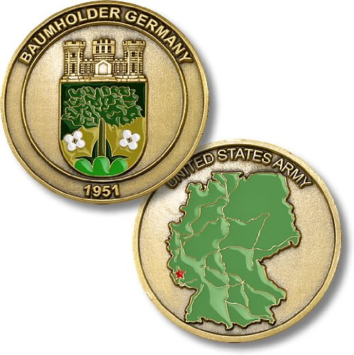 United States Army - Baumholder, Germany Challenge Coin
