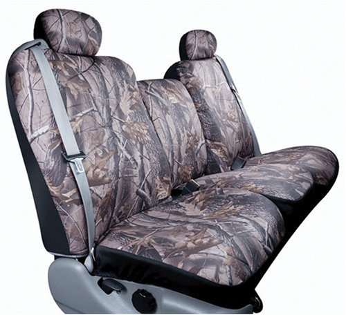 Saddleman Custom Made Front/Rear Bucket Seat Covers - Polyester Fabric (Camouflage) by Automotive Innovations
