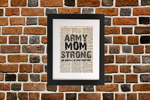 Army Mom Strong - Upcycled