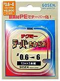 ゴーセン(GOSEN) テクミ― テーパーちから糸(赤) 13m×2本巻き 0.6-6号 GT-490R