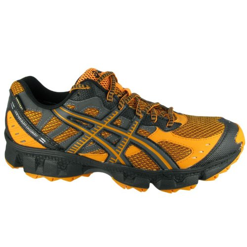 Asics Gel Trail Lahar 3 G-TX orange charcoal black
