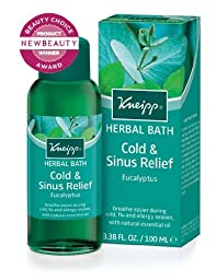 Kneipp Cold & Sinus Relief Bath Eucalyptus, 3.38 Fl Oz