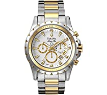 Men's watches special offers - Bulova Men's Marine Star Chronograph  Watch #98B014 :  mens watch bulova