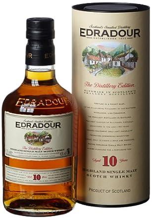 Edradour 10 Year Old Single Malt Scotch Whisky - 70cl