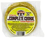 Lenny & Larrys The Complete Cookie, Lemon Poppy Seed, 4-Ounce Cookies (Pack of 12)
