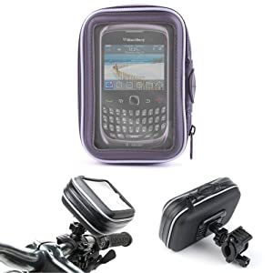 DURAGADGET Frame And Splash Resistant 11cm Bike Cover For Blackberry Phones Including Curve 9320 & Porsche Design P'9981
