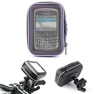 DURAGADGET Frame And Splash Resistant 11cm Bike Cover For Blackberry Phones Including BlackBerry 8700 Sim Free Smartphone, Curve 9320 & Porsche Design P'9981