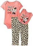 Disney Baby-Girls Newborn Minnie Mouse 3 Piece Print Bib Set