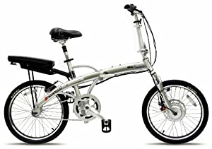 Prodeco V3 Mariner Folding Electric Bicycle, Brushed Aluminum with Satin Clear, 20-Inch/One Size from Prodeco Technologies