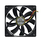 Scythe - Case Fan - 120 mm - 088 CFM - 1600 RPM - KAZE-JYUNI - SY1225SL12H