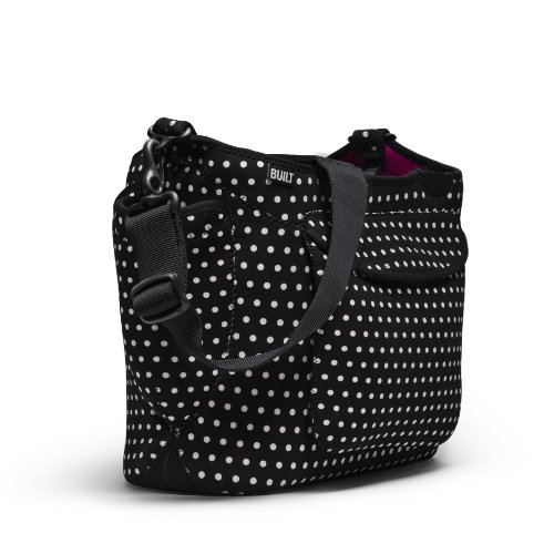 Built - Sac à Langer Point Noir et Blanc Built NY - BBY-GGDT-MBW
