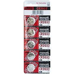 Maxell CR2032 3V - Pilas (Litio, Button/coin), Plata