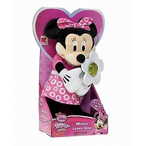 Amazon.com: Disney Minnie Mouse Exclusive Light up & Talking Plush Toy