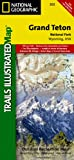 National Geographic Maps Grand Teton National Park Wyoming: NG.NP.202 (Trails Illustrated Maps)