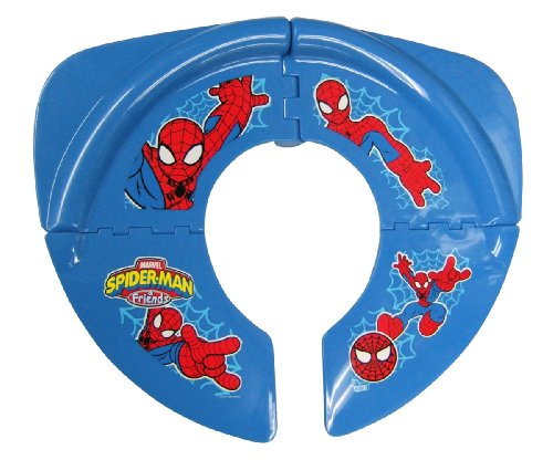 Spiderman Folding Potty Seat, Red Blue