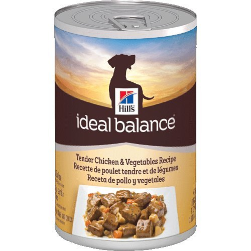 Hill's Ideal Balance Tender Chicken and Vegetables Recipe 12-Pack Dog Food Can, 12.8-Ounce
