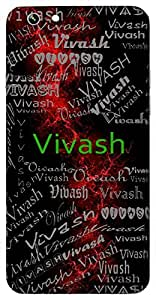 Vivash (Bright) Name & Sign Printed All over customize & Personalized!! Protective back cover for your Smart Phone : Samsung Galaxy S5mini / G800