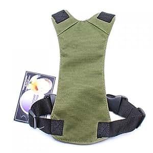 harnais ceinture de s curit universelle pour chien pour les si ges de voiture taille s vert d. Black Bedroom Furniture Sets. Home Design Ideas