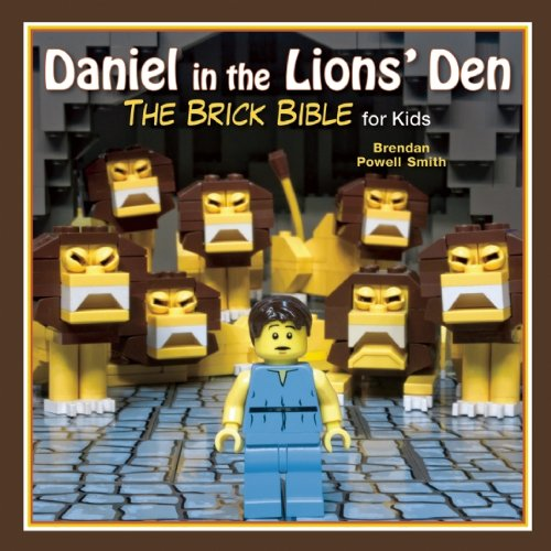 Daniel in the Lions' Den: The Brick Bible for Kids (Old Testament For Kids compare prices)
