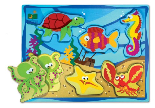 Cheap Fun The Learning Journey Chunky Puzzle (Under The Sea) (B000VE01W2)