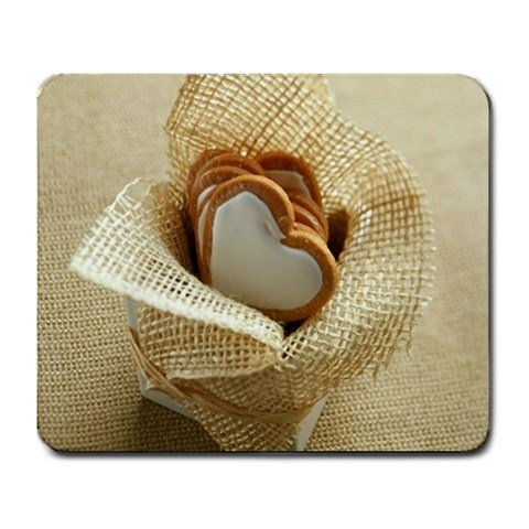Heart Cookies Valentines Day Mouse Pad