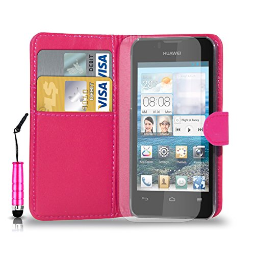 huawei-ascend-y300-leather-wallet-flip-case-cover-pouch-mini-touch-stylus-pen-free-screen-guard-clea