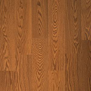 Quick step eligna uniclic long plank 8mm stained red oak for Uniclic flooring