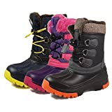Nova Mountain Boy's Girl's Winter Snow Boots