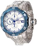 Invicta Men's 10174 Venom Reserve Automatic Chronograph Silver Dial Stainless Steel Watch