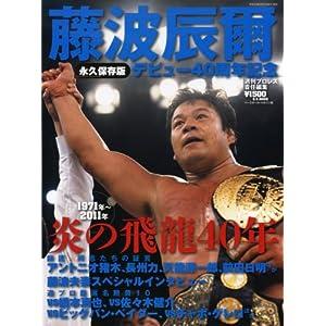 藤波辰爾 永久保存版―炎の飛龍40年 (B・B MOOK 762 スポーツシリーズ NO. 633)