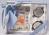 Disney Baby Winnie the Pooh Metal Frame with Tooth & Curl Keepsake Boxes